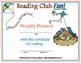 Springtime Reading Log and Certificate Set