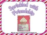 Sprinkled with Friendship Valentines Craftivity