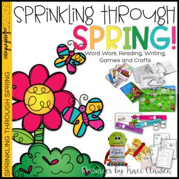 Word Work, Reading Writing & Crafts - ELA / Phonics - Spri