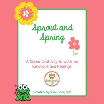 Social Skills:  Emotions craftivity Spring