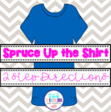 Spruce Up the Shirt - 2 Step Directions