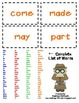 "Sight Word ""Spy Around The Room With Me"" Activity & Worksheets"