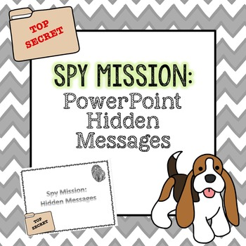 Spy Mission: PowerPoint Hidden Messages - 2nd Grade