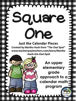 Square One:  Calendar Pieces - a new pattern for each month