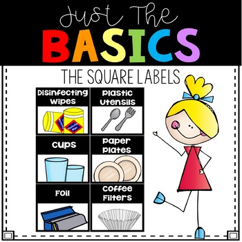 Square Supply Labels