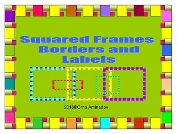 Squared Frames and Borders