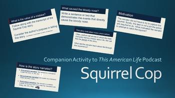 Squirrel Cop - Companion Activity to 'This American Life'