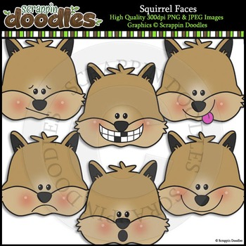 Squirrel Faces