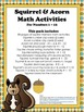 Squirrel Math and Number Recognition Preschool Activity Pack