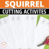 Squirrel and Acorn Scissor Practice Pages:  FREEBIE Fine M