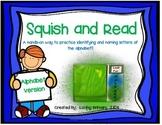 Squish and Read:  Alphabet Identification & Naming Practice