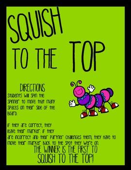 Squish to the Top - ee, ea, y