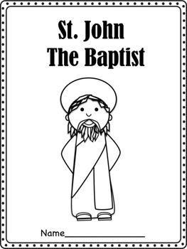 St. John The Baptist Booklet