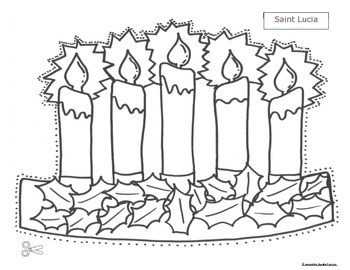 St Lucia Christmas Pattern hats and activities Cscope CC