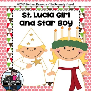 St. Lucia Girl and Star Boy {Christmas Around the World}