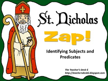 St. Nicholas ZAP Identifying Subjects and Predicates