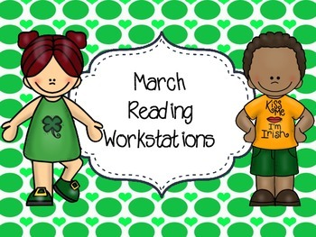 St. Patricks Day Reading Stations