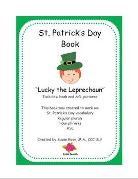 Language - St. Patrick's Day noun phrases, plurals and ASL