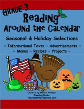 Reading Around The Calendar - Grade 3