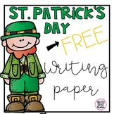 St. Patrick Writing Paper