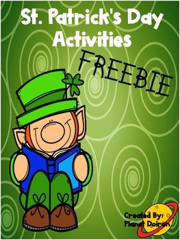 St, Patrick's Day 1st and 2nd grade ELA Creative Writing freebie