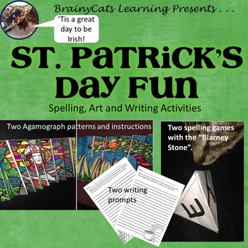 St. Patrick's Day 2017:  Writing Prompts, Art Activities,