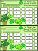 St. Patrick's Day Activities: Shamrock Ten Frames
