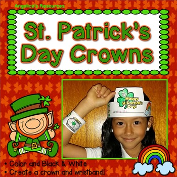 St. Patrick's Day : Crowns and Wristbands