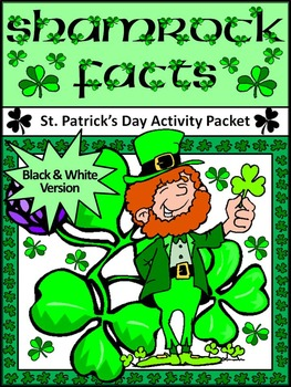 St. Patrick's Day Science & Social Studies Activities: Sha