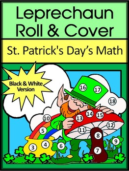 St. Patrick's Day Game Activities: Leprechaun Roll & Cover