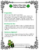 St. Patrick's Day Addition & Place Value Color by Equation
