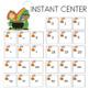 St. Patrick's Day Alphabet Matching Cards Literacy Center