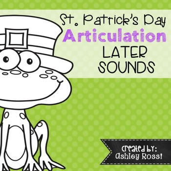 St. Patricks Day Speech Therapy