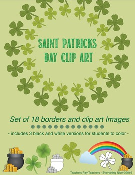 St. Patrick's Day Borders and Clip Art