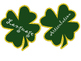St. Patrick's Day Bulletin Board Shamrocks for Speech Therapy!