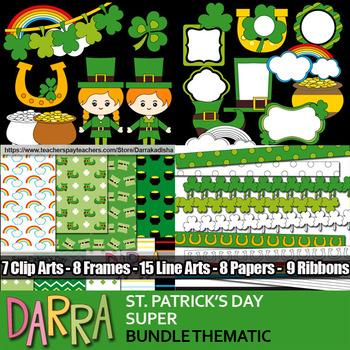 St. Patrick's Day Bundle Clip Art