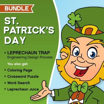 St. Patrick's Day Bundle! - Integrated Writing + Engineeri