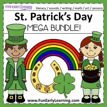 St. Patrick's Day Bundle - Letters, Numbers, Sounds, Writi