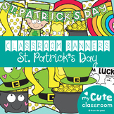 St Patrick's Day Classroom Banner Set