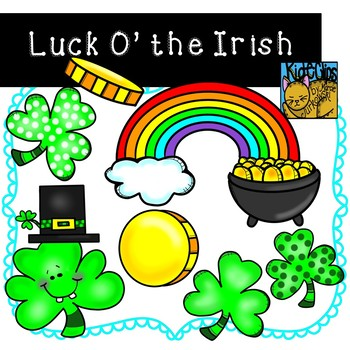 St. Patrick's Day Clip Art by Kid-E-Clips Commercial and P