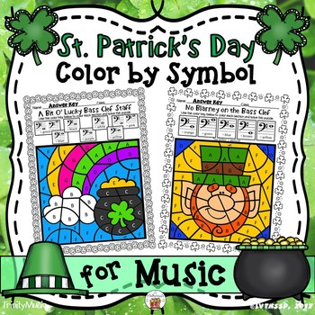 St. Patrick's Day Color By Number (Music)