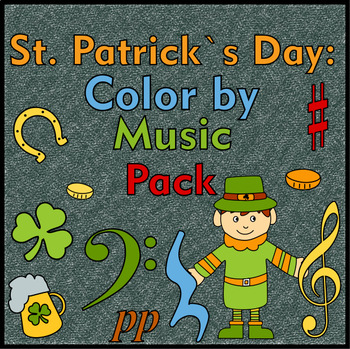 St. Patrick`s Day Color by Music Pack