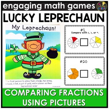 Comparing Fractions (Pictures Version) Game