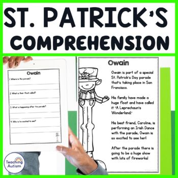 St Patrick's Day Comprehension