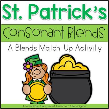 St. Patrick's Day Consonant Blends Activity