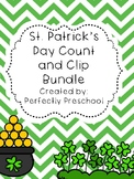 St Patrick's Day Count and Clip Bundle