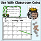 St. Patrick's Day Coin Counts - Task Cards for Partners