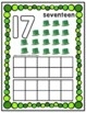 St. Patrick's Day Counting Play Dough Mats 0-10
