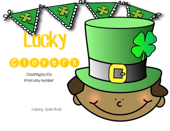 St. Patrick's Day:  Counting by 10's from any number
