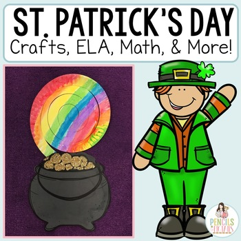 St. Patrick's Day Craftivity : Writing Templates, ELA, and